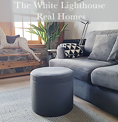 The White Lighthouse Furniture Real Homes with white furniture in the home