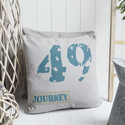 By The Sea Cushion Cover for coastal inspired homes