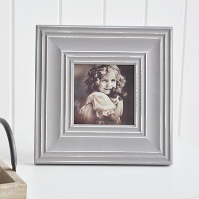 Portland square photo frame - The White Lighthouse New England Country and Castal Furniture and Interiors