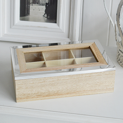Wooden Tea Chest for new England Homes and Interior styling