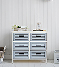Beach House Storage with drawers for a coast home