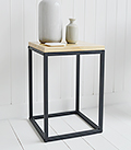 Brooklyn lamp side Table for hallway furniture