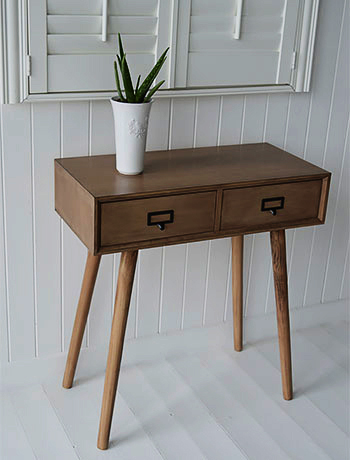 Scandi chic Henley console hallway table furniture