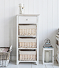 Cape Cod tall storage