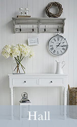 Hallway furniture and hall storage solutions