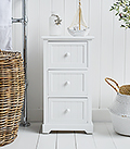 Maine bathroom cabinet with 3 drawers for storge furniture