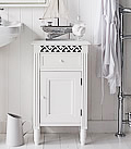 Westport bathroom cabinet with drawer and cupboard