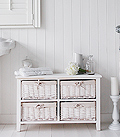 White Bathroom Free Standing Cabinet Bathroom Storage Cabinets From The White Lighthouse