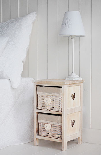 Extra Small Bedside Table With Drawers 25cm Bedroom Furniture